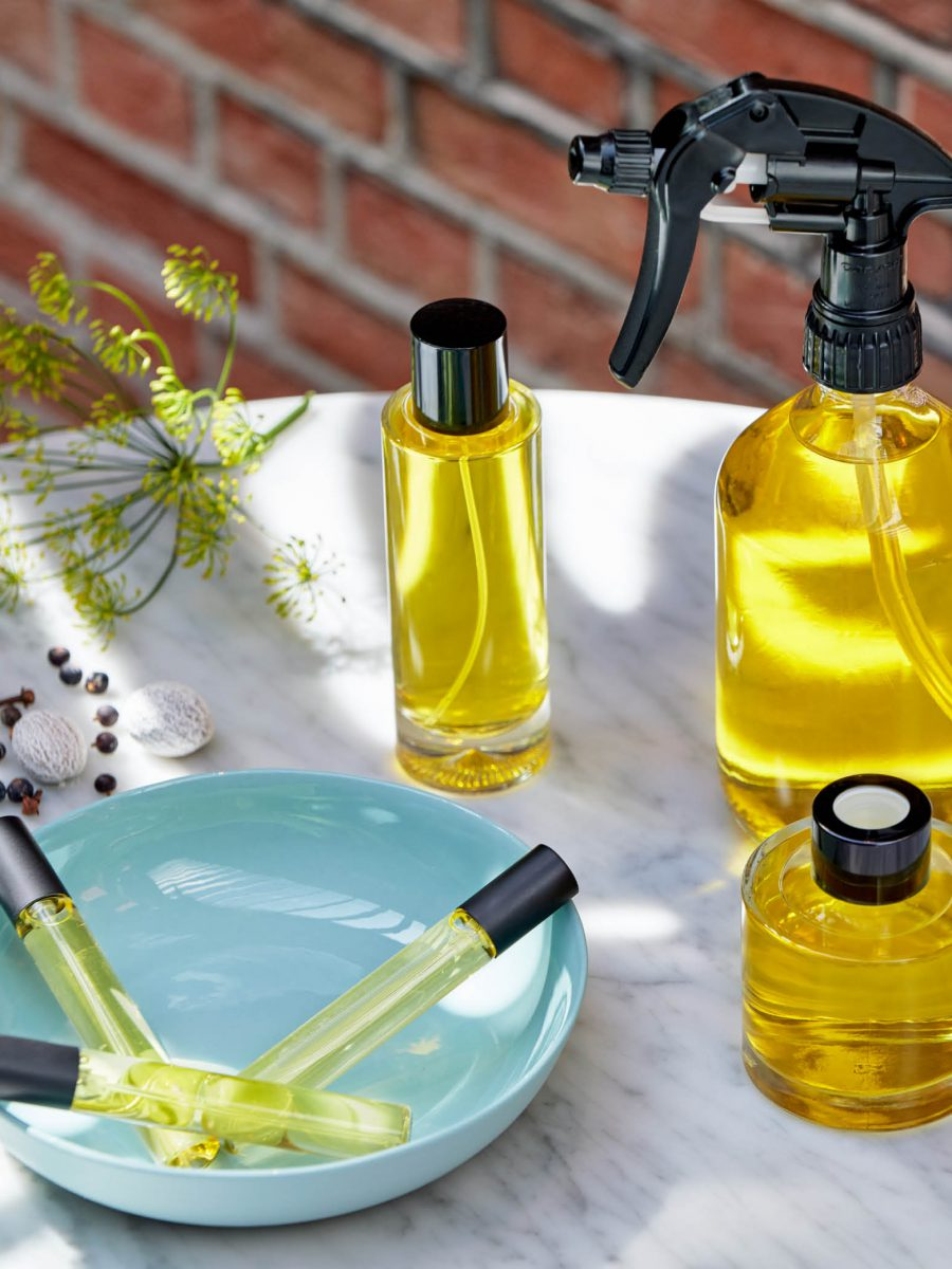 Delush interior fragrance scented products